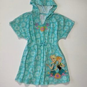 🎈 Frozen Disney Hooded Terry Cover-up
